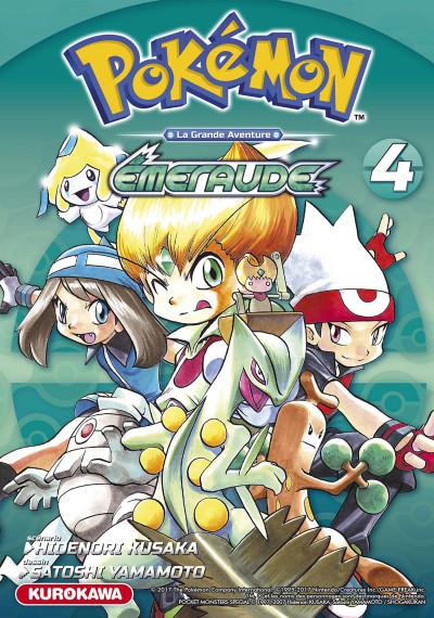 Couverture Pokémon rouge feu / vert feuille tome 4