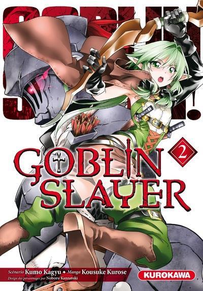 Couverture Goblin slayer tome 2