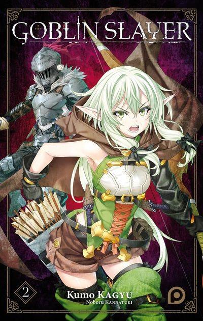 Couverture Goblin slayer - light novel tome 2