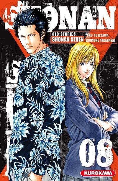 Couverture Shonan seven tome 8