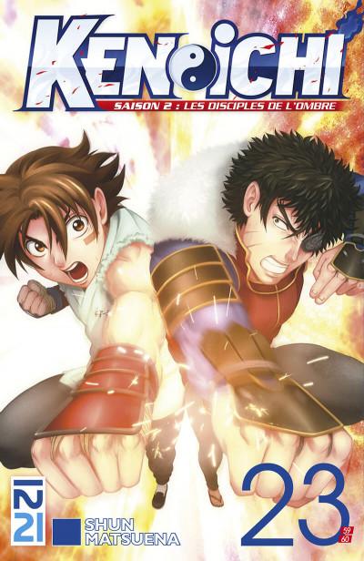 Couverture Ken-Ichi - saison 2 tome 23