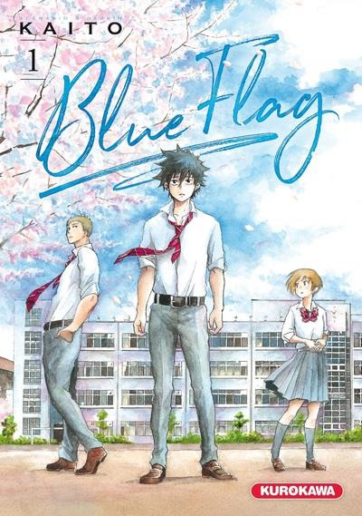 Couverture Blue flag tome 1
