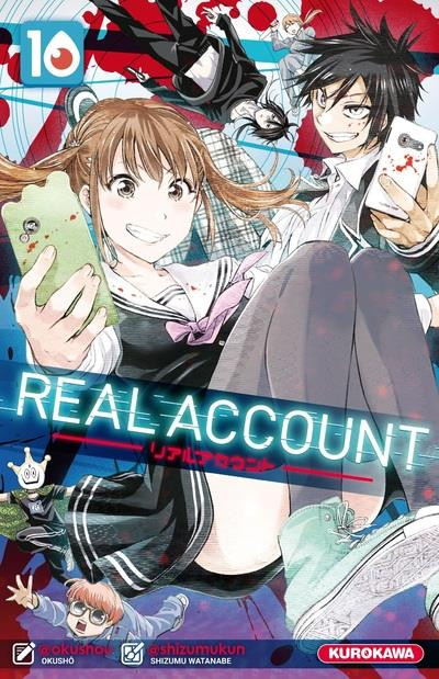 Couverture Real account tome 10