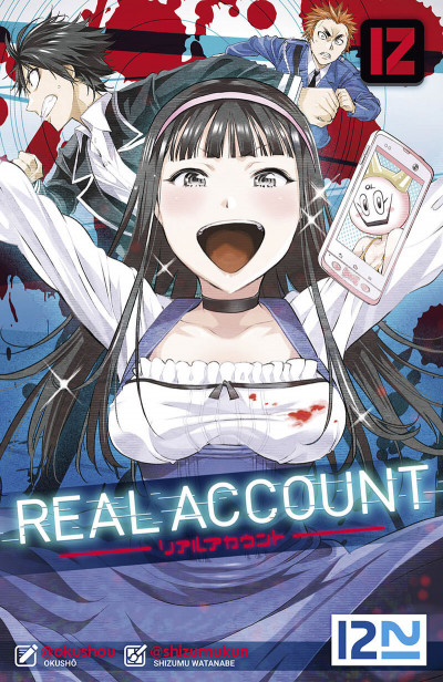 Couverture Real account tome 12