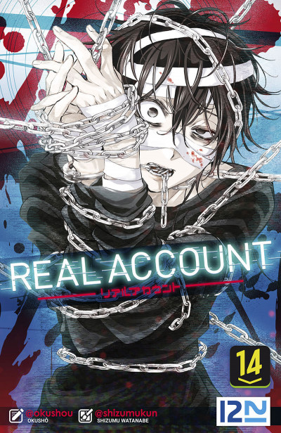 Couverture Real account tome 14