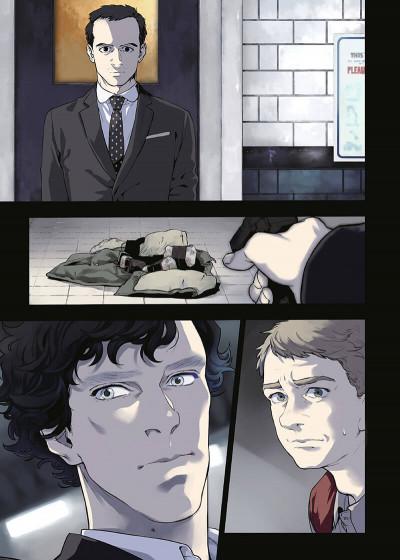 Page 1 Sherlock tome 4