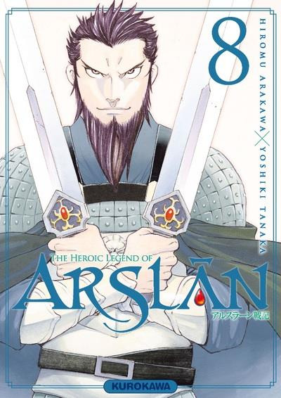 Couverture The heroic legend of Arslân tome 8