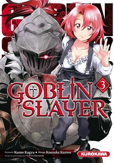 Couverture Goblin slayer tome 3