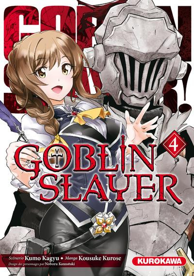 Couverture Goblin slayer tome 4