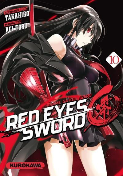 Couverture Red eyes sword - Akame ga kill ! Zero tome 10
