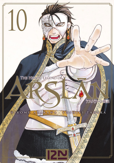 Couverture The heroic legend of Arslân tome 10