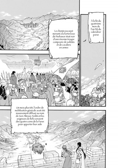 Page 8 The heroic legend of Arslân tome 10