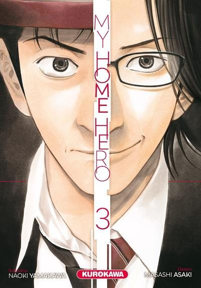 Couverture My home hero tome 3