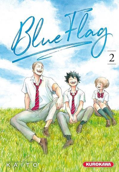 Couverture Blue flag tome 2