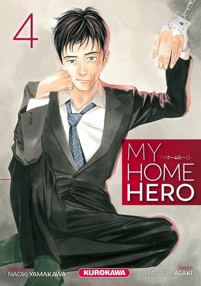 Couverture My home hero tome 4