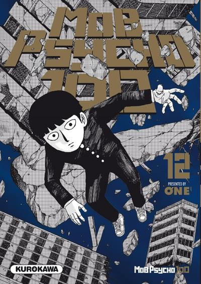 Couverture Mob psycho 100 tome 12