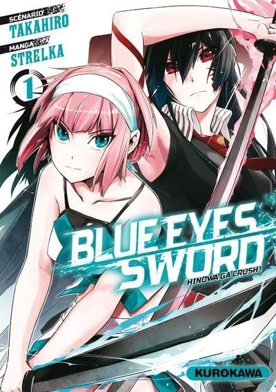 Couverture Blue eyes sword tome 1