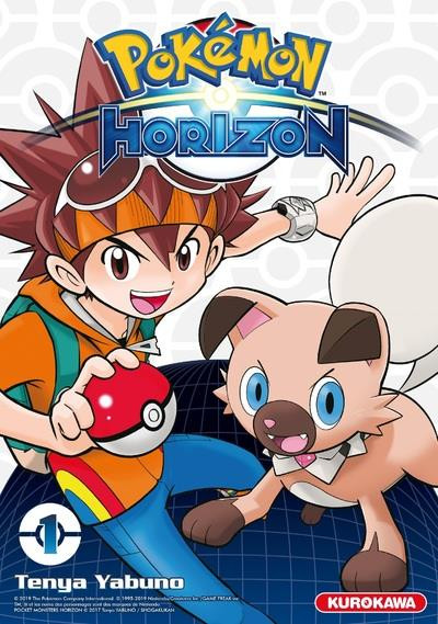 Couverture Pokémon - horizon tome 1