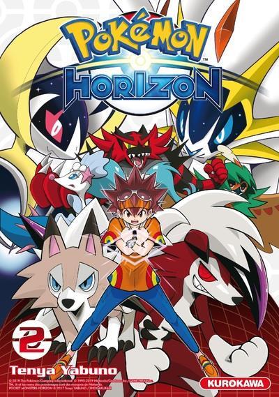 Couverture Pokémon - horizon tome 2