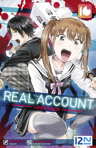 Couverture Real account tome 16