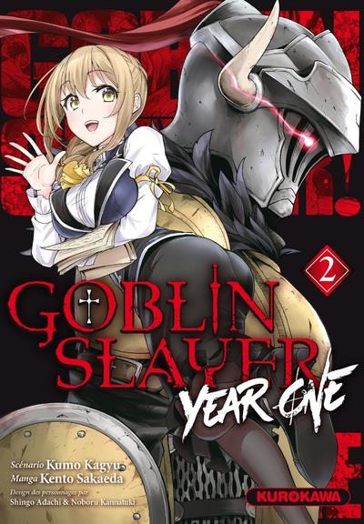 Couverture Goblin slayer - year one tome 2
