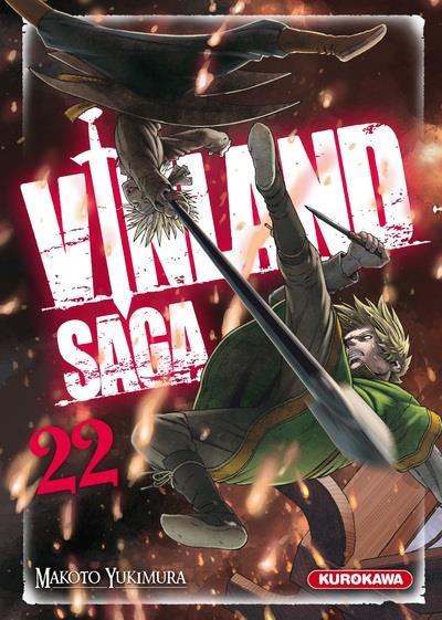 Couverture Vinland saga tome 22