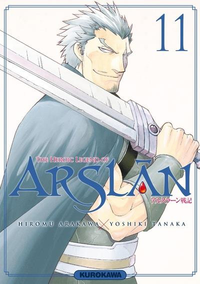Couverture The heroic legend of Arslân tome 11