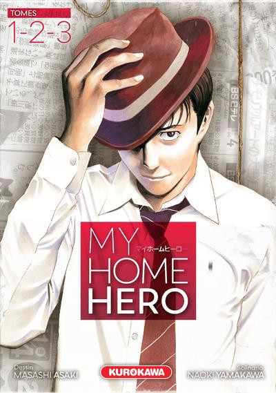 Couverture My home hero - coffret tomes 1 à 3