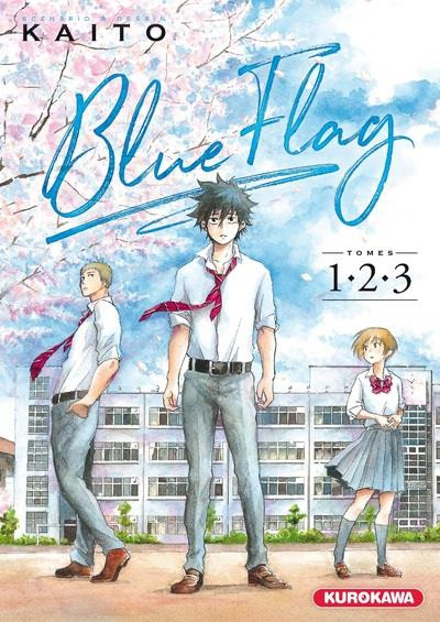 Couverture Blue flag - coffret tomes 1 à 3