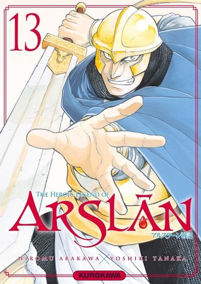 Couverture The heroic legend of Arslân tome 13
