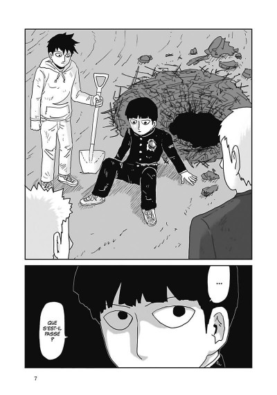 Page 8 Mob psycho 100 tome 13