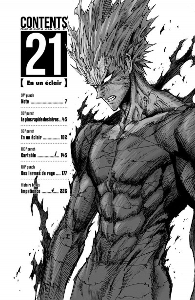 Page 7 One-punch man tome 21