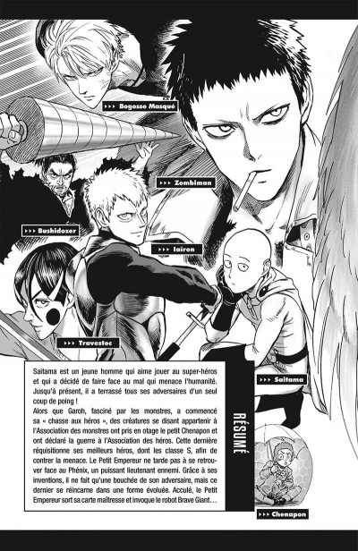 Page 6 One-Punch Man tome 22