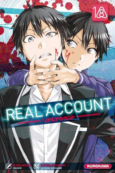 Couverture Real account tome 18