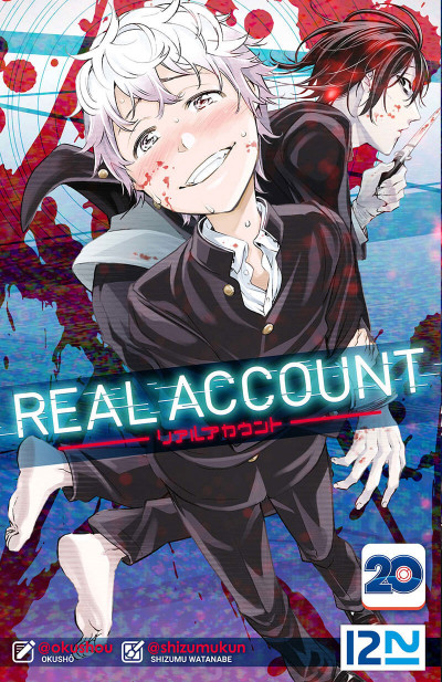 Couverture Real account tome 20