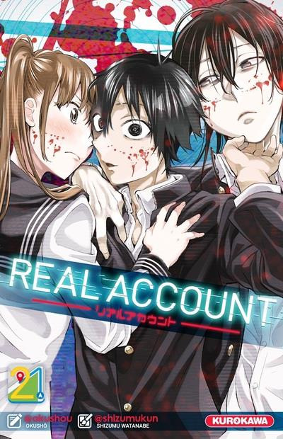 Couverture Real account tome 21