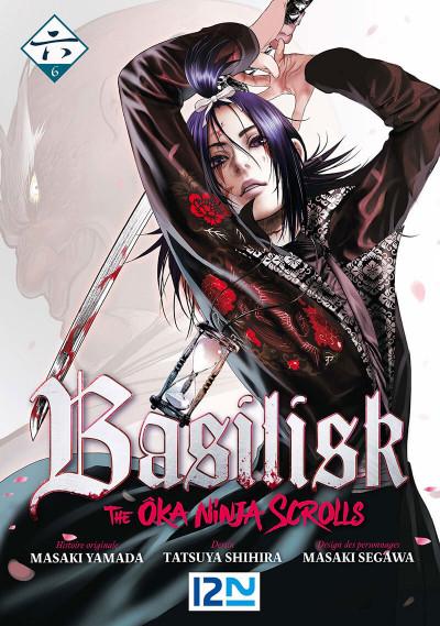 Couverture Basilisk - the ôka ninja scrolls tome 6