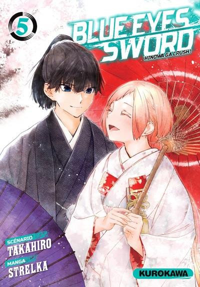 Couverture Blue eyes sword tome 5