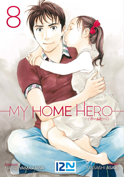 Couverture My home hero tome 8