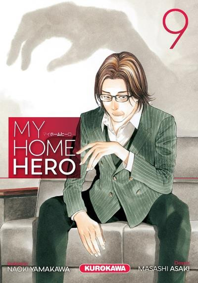 Couverture My home hero tome 9