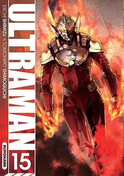 Couverture ultraman - tome 15 - vol15