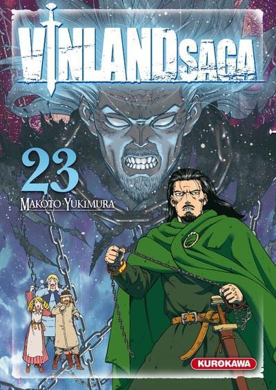Couverture Vinland saga tome 23