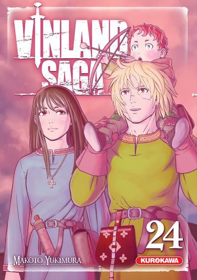 Couverture Vinland saga tome 24