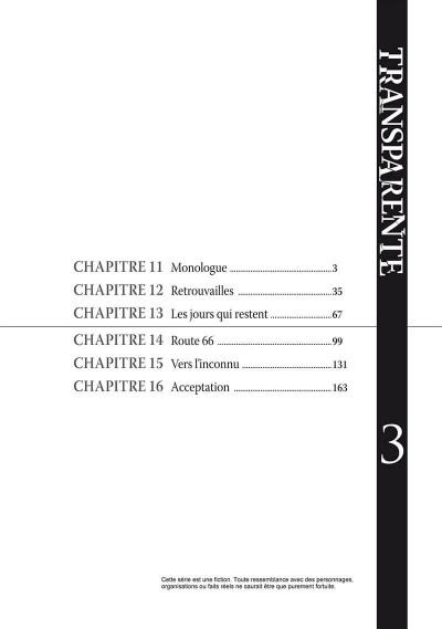 Page 3 Transparente tome 3