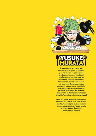 Page 1 Les bons petits plats d'un mangaka