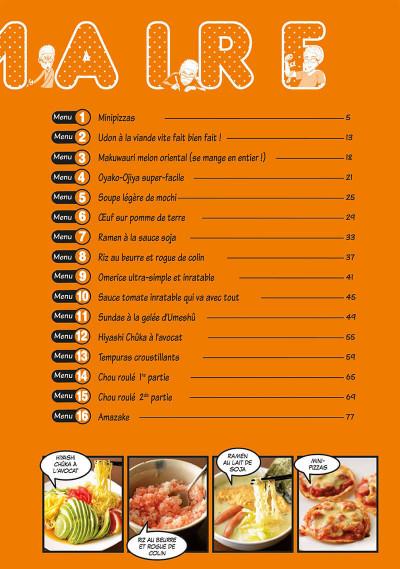 Page 3 Les bons petits plats d'un mangaka