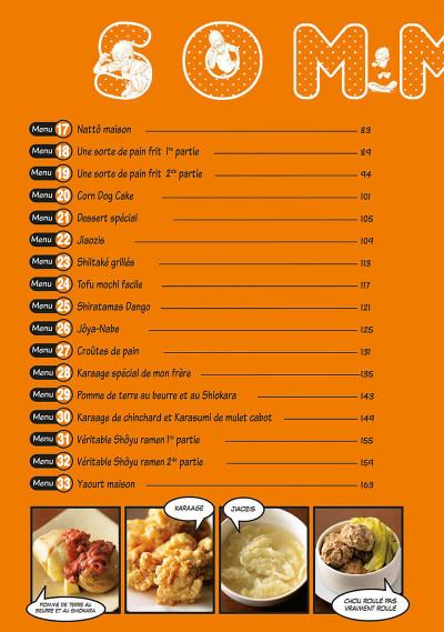 Page 4 Les bons petits plats d'un mangaka