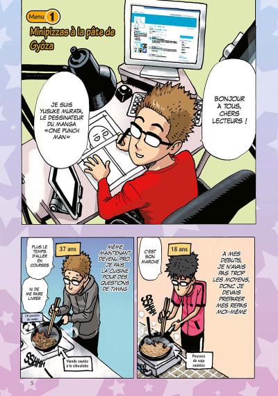 Page 6 Les bons petits plats d'un mangaka