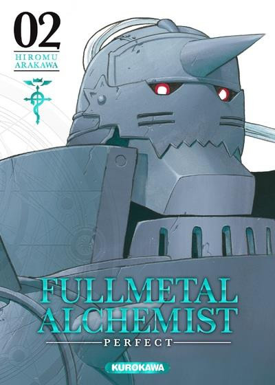 Couverture Fullmetal alchemist - perfect tome 2