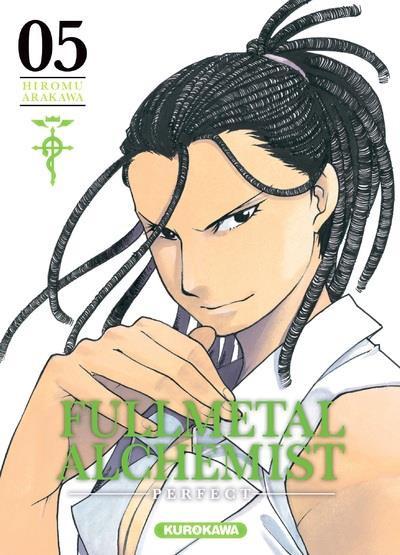 Couverture Fullmetal alchemist - perfect tome 5